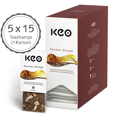 Rooibos Orange (75 Teachamps à 4,0 g / 300 g)