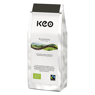 Darjeeling First Flush, Bio/Fairtrade (Loser Tee 150 g)