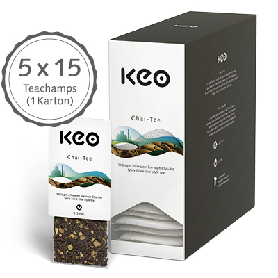 Chai Tee (75 Teachamps à 4,0 g / 300 g)