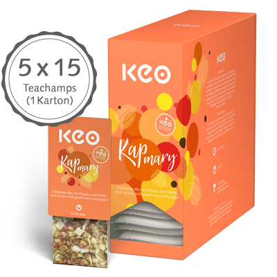 "Kapmary ""Tee-Edition""  (75 Teachamps à 3,5 g / 262,5 g)"